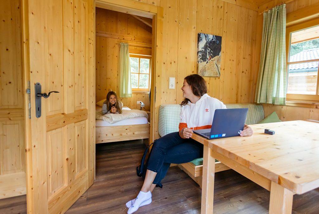 Gemütliche Lodges in Tirol