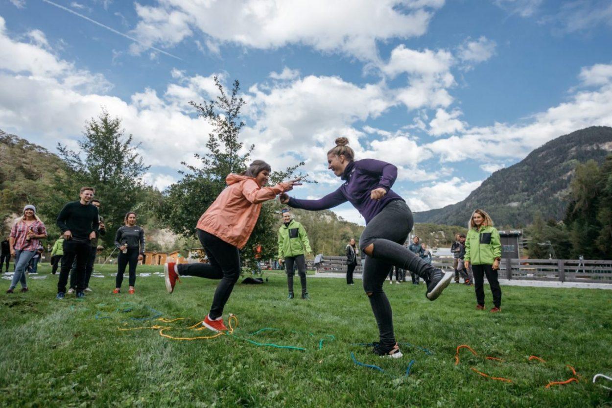 Teambuildingaktivitäten in Tirol