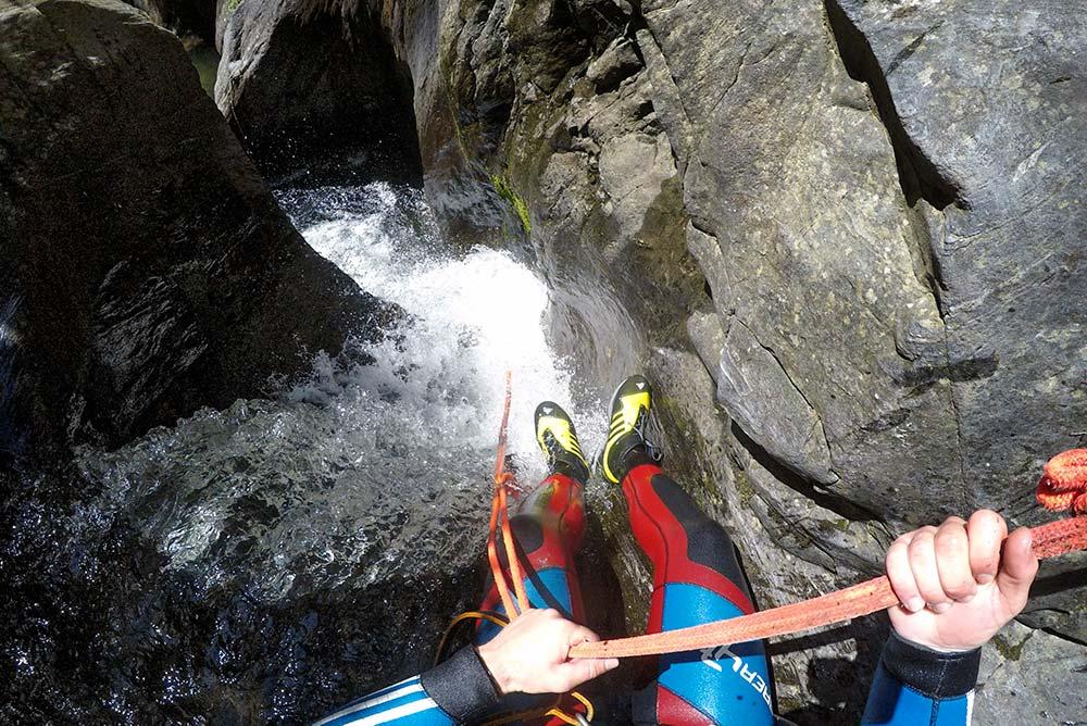 Canyoning-Tour Acapulco ► Nur für Fortgeschrittene