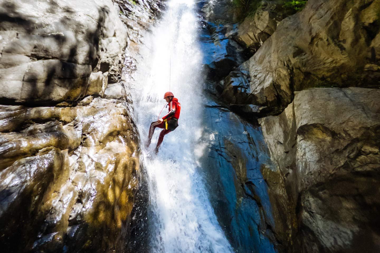 Canyoning für Fortgeschrittene in Tirol