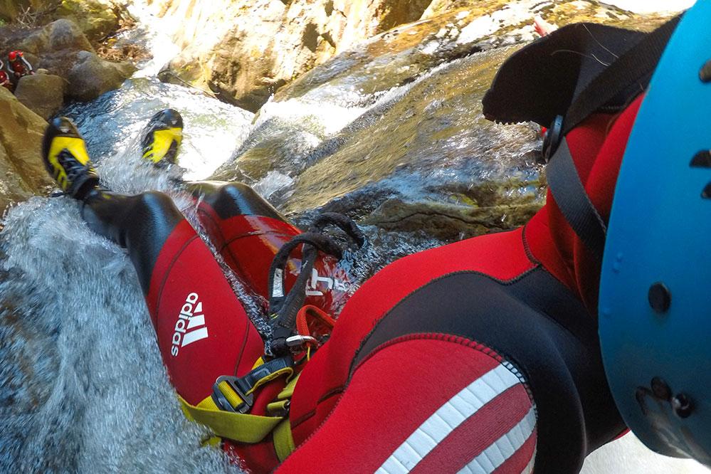 Canyoning Abenteuer in der unteren und mittleren Auerklamm