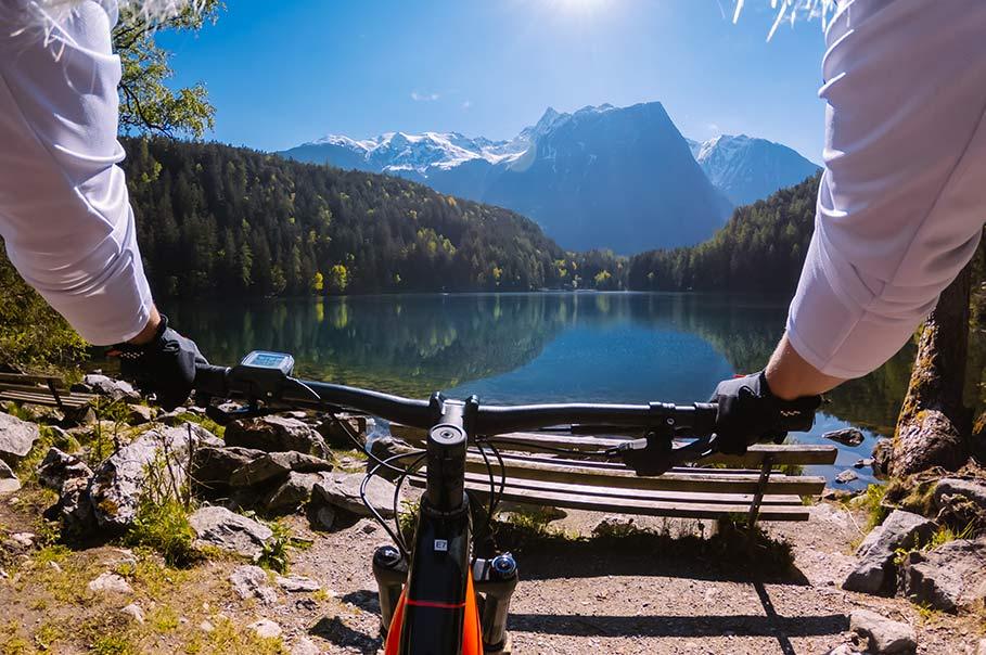 E-Bike Tour zum Piburger See