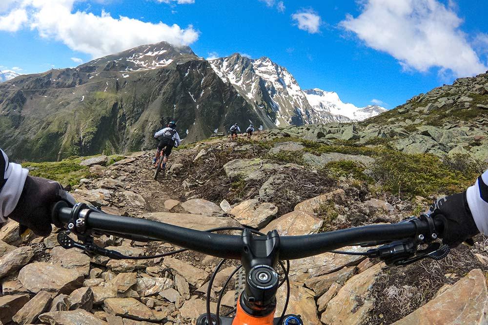 Singletrails in Tirol