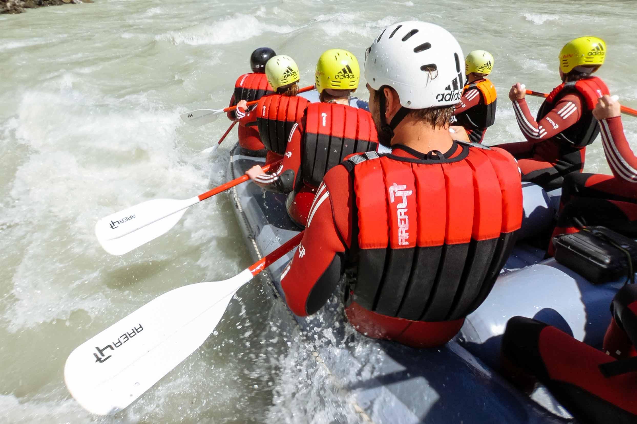 Rafting im Ötztal in Tirol