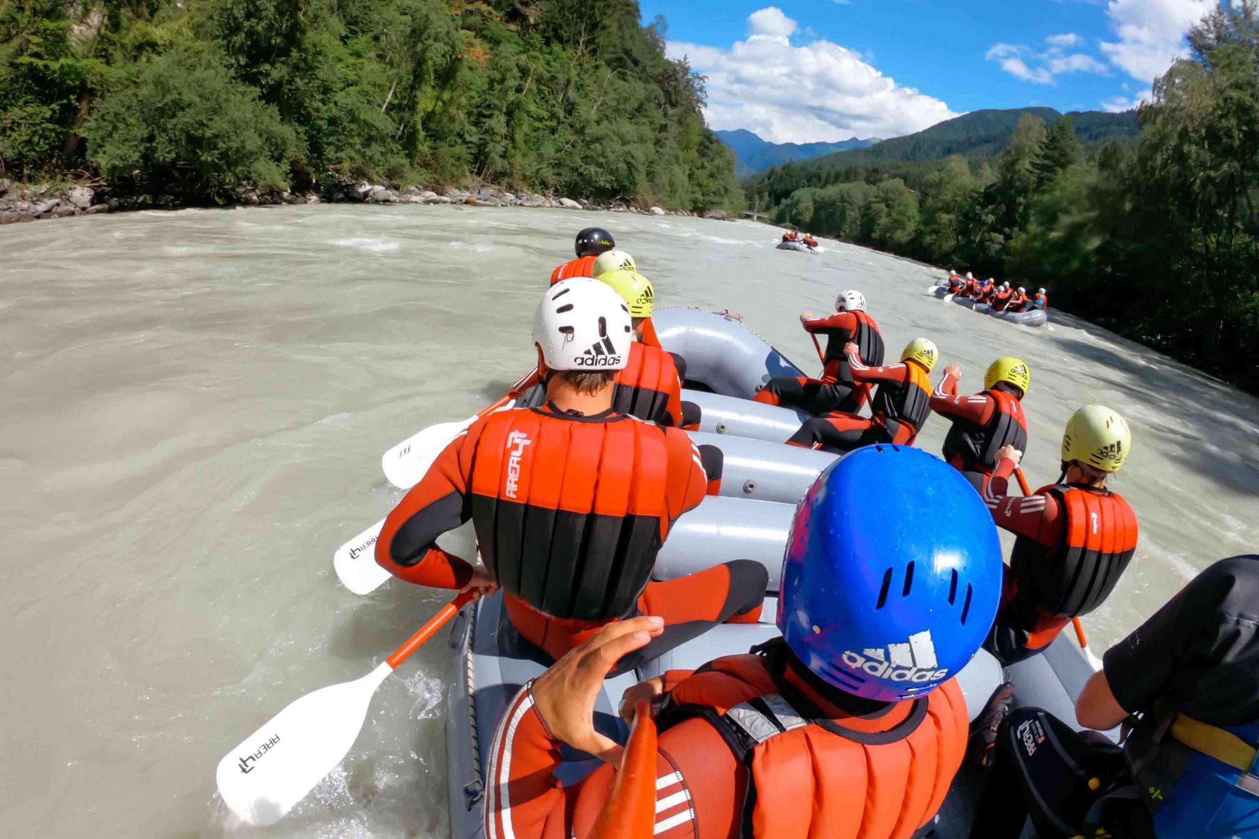 Rafting-Touren für Anfänger