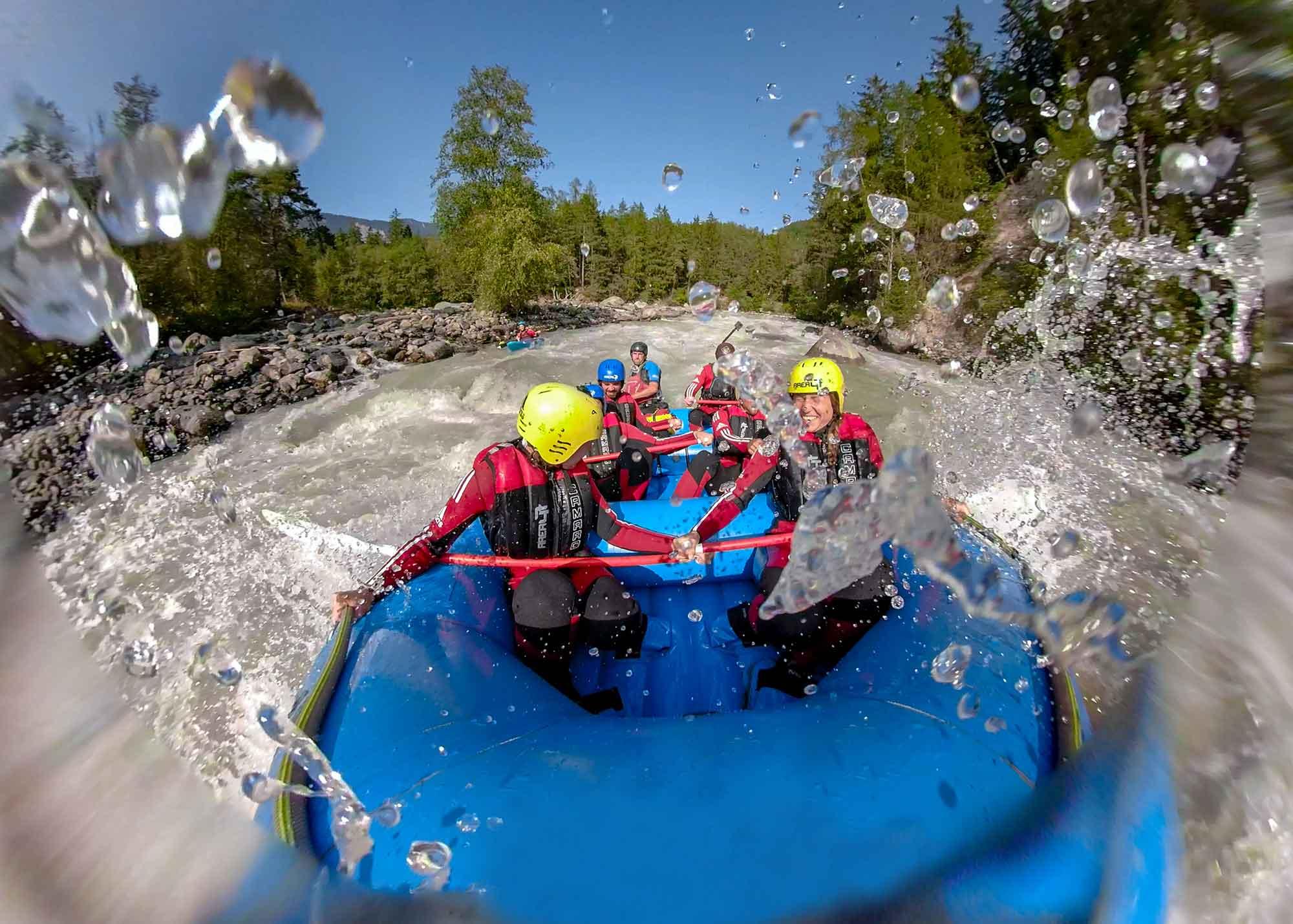 Rafting für Fortgeschrittene im Ötztal in Tirol