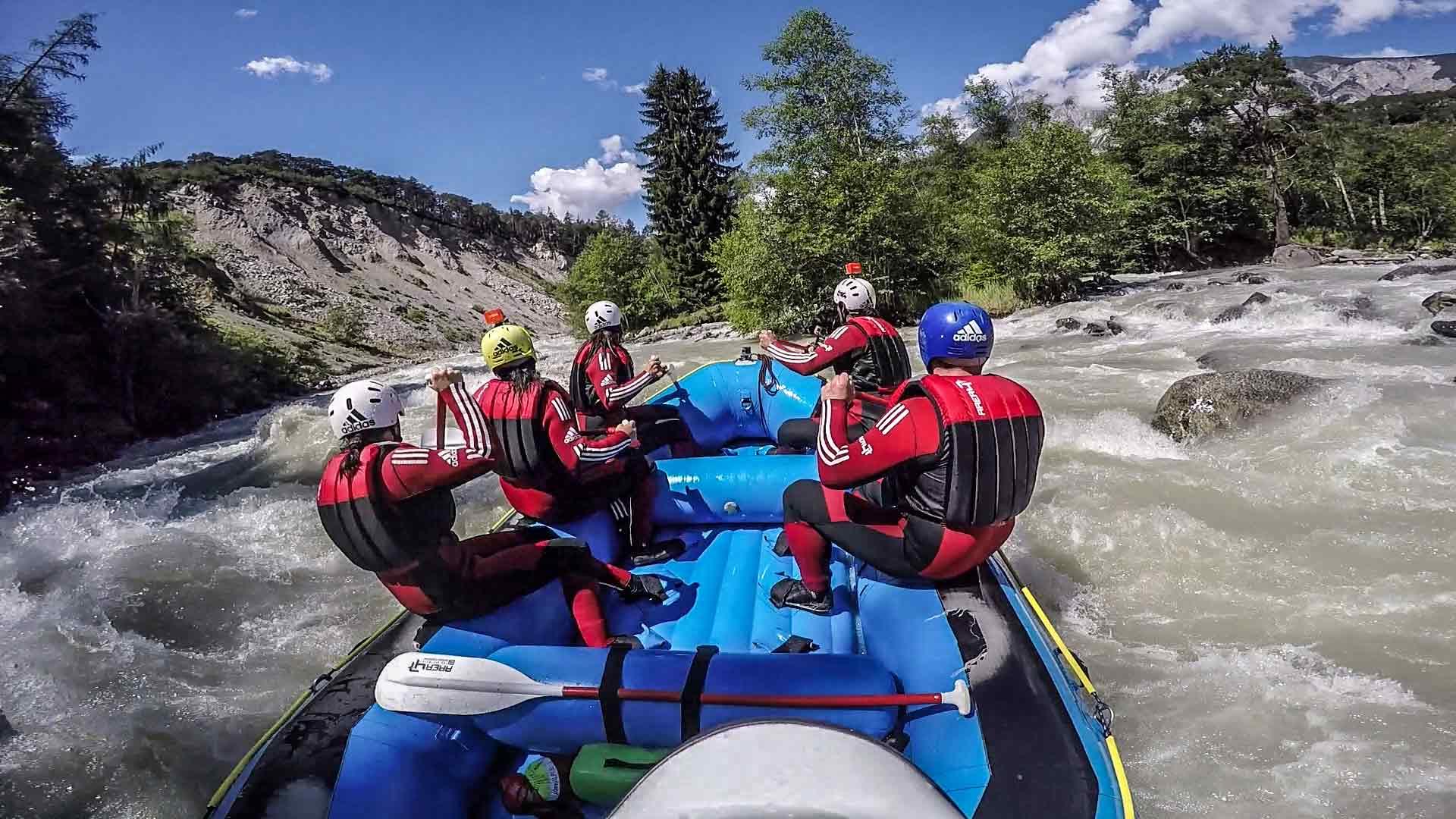 Rafting-Touren in Tirol, Österreich
