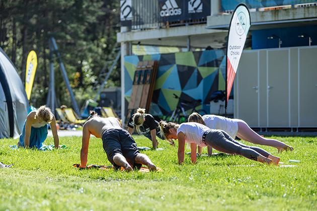 Yoga Stunden im Ötztal, Tirol