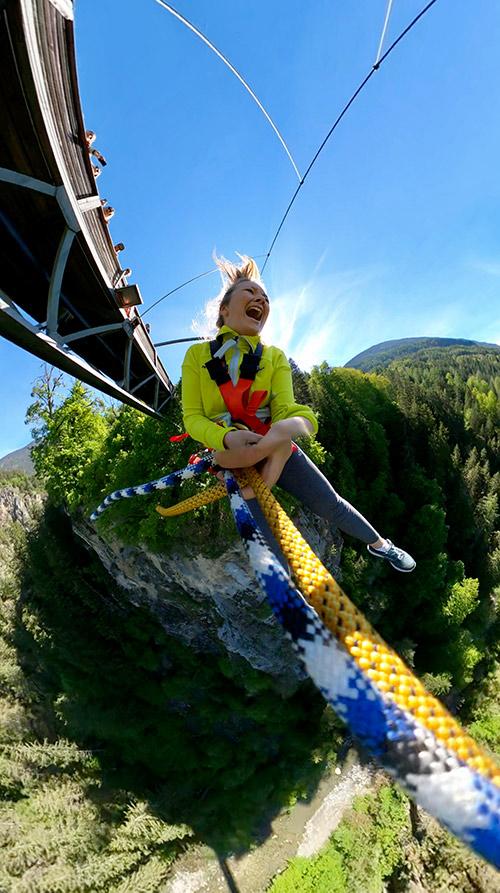 Canyon Swing Erlebnis