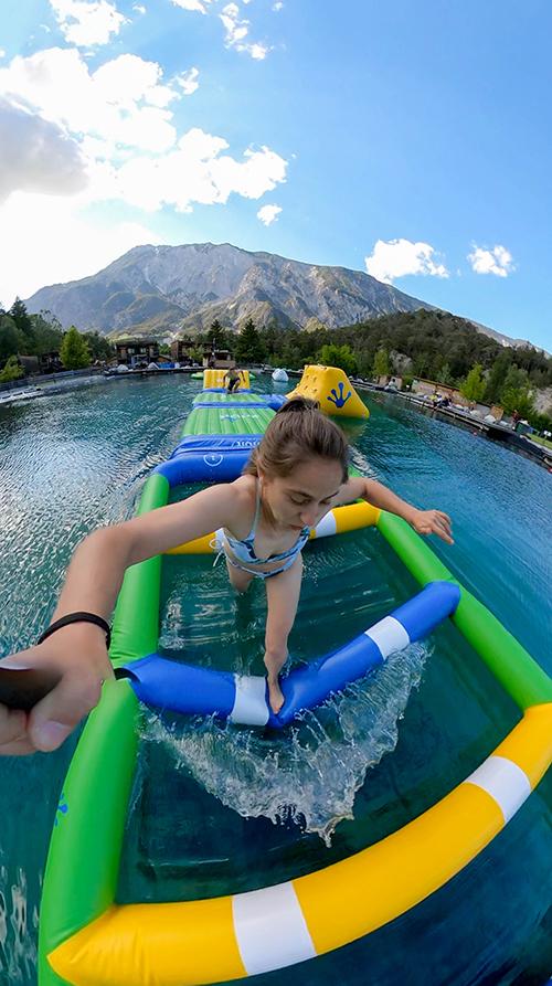 Action und Fun im Wasser