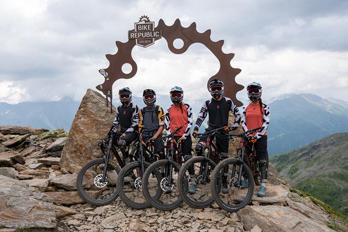 Alles dabei: All-inklusive Bike Trip nach Sölden