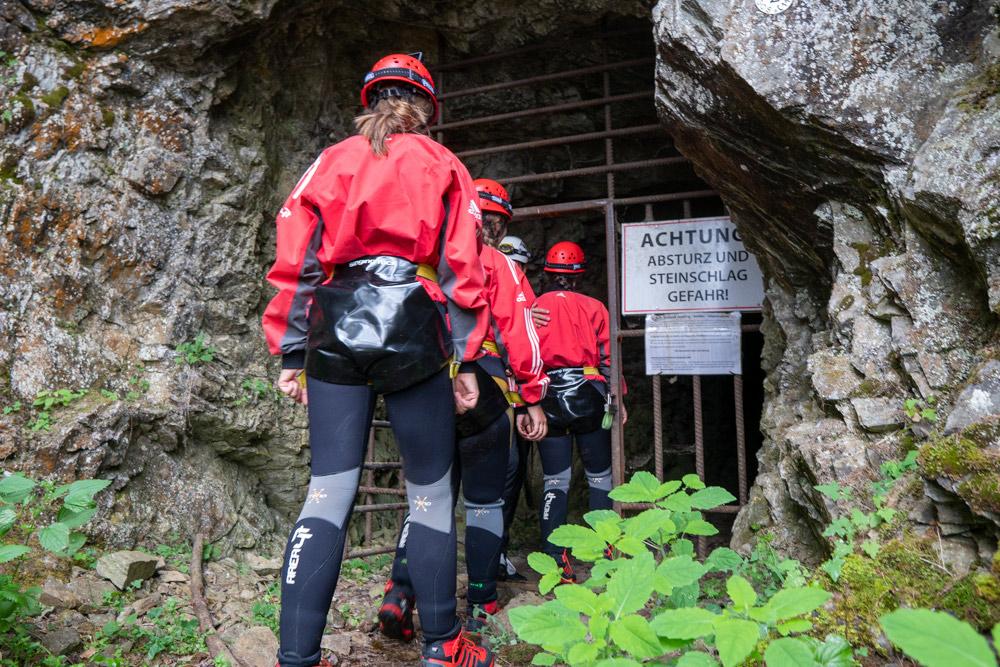 Höhlenwanderung Tirol