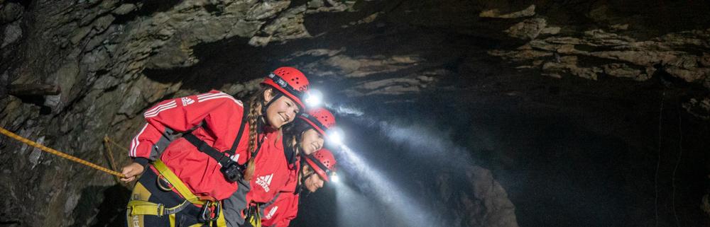 Caving in Tirol